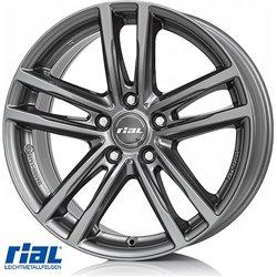 RIAL X10 GR 8,0X18, 5X120/43 (72,6) (GR) (BMW) ECE KG730 EH2+
